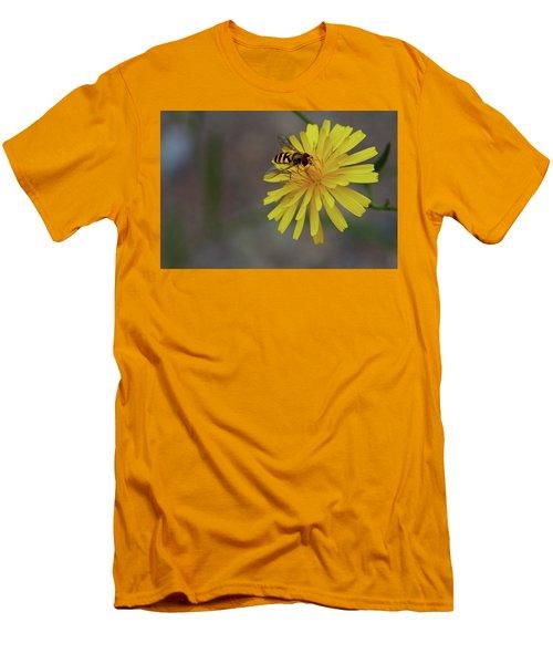 Visitor Men's T-Shirt (Slim Fit) by Scott Holmes