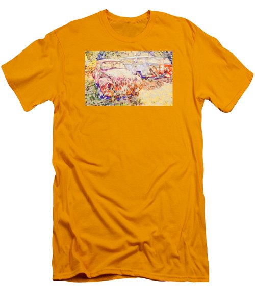 Vw Rest Home Men's T-Shirt (Slim Fit) by Ronda Broatch