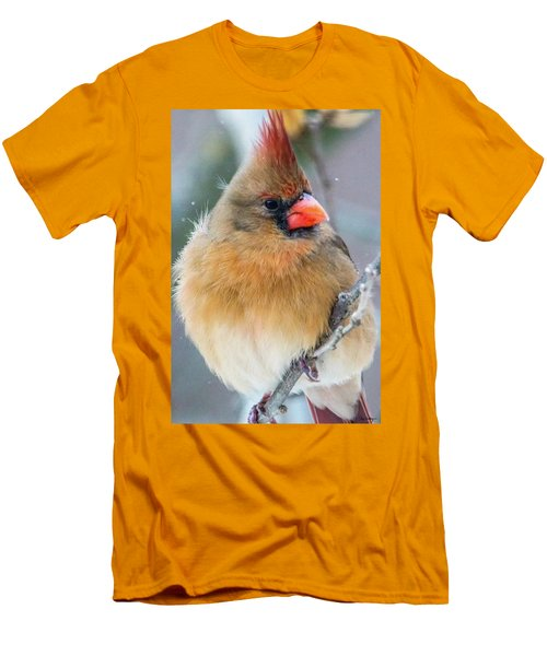 Men's T-Shirt (Slim Fit) featuring the photograph Waiting Her Turn  by Skip Tribby