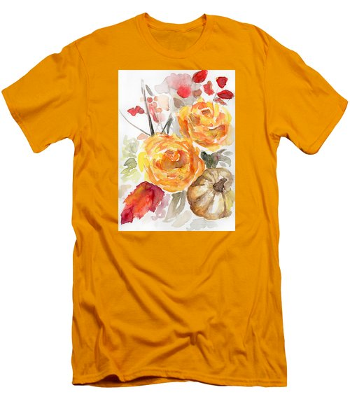 Warm Autumn Men's T-Shirt (Slim Fit) by Arleana Holtzmann