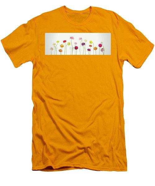 Whispering Spring Men's T-Shirt (Athletic Fit)