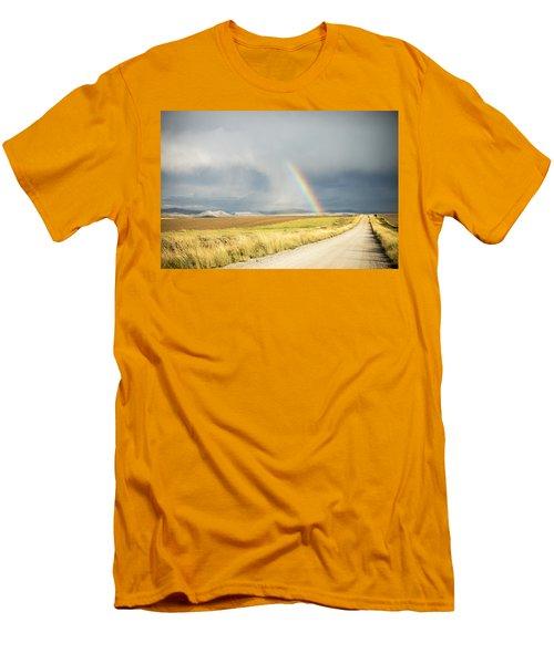 Wide Open Spaces Men's T-Shirt (Athletic Fit)