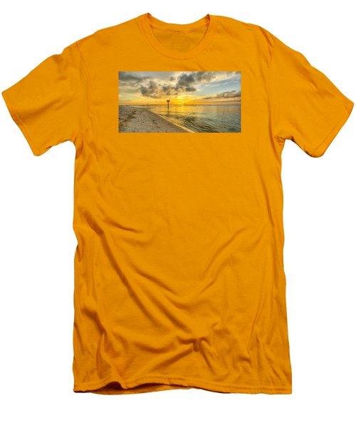 Wiggins Pass State Park Men's T-Shirt (Slim Fit) by Sean Allen