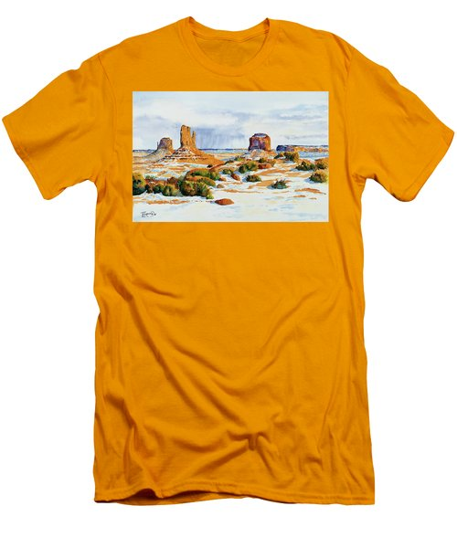 Winter In The Valley Men's T-Shirt (Athletic Fit)