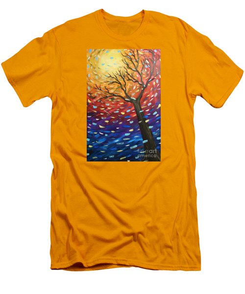 Winter Sun Men's T-Shirt (Athletic Fit)