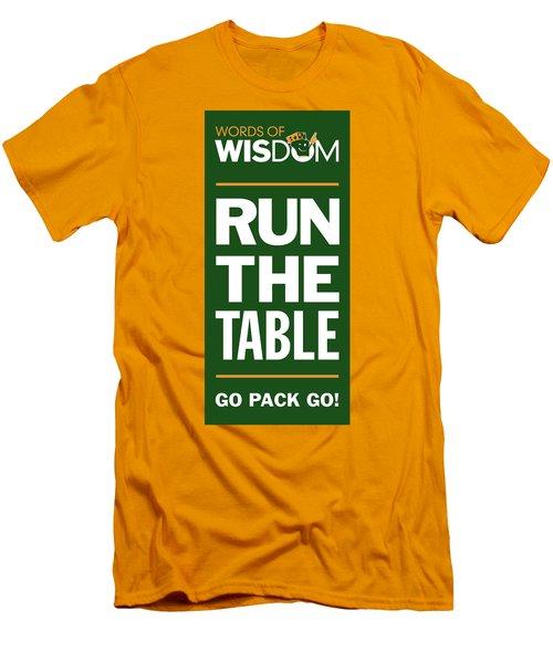 Words Of Wisdom Men's T-Shirt (Athletic Fit)