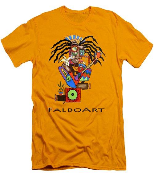 Ya Man 2 No Steel Drums Men's T-Shirt (Slim Fit)
