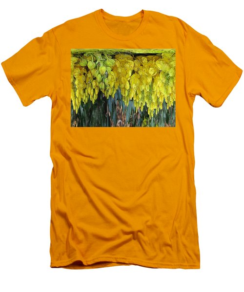 Yellow Buds Men's T-Shirt (Athletic Fit)