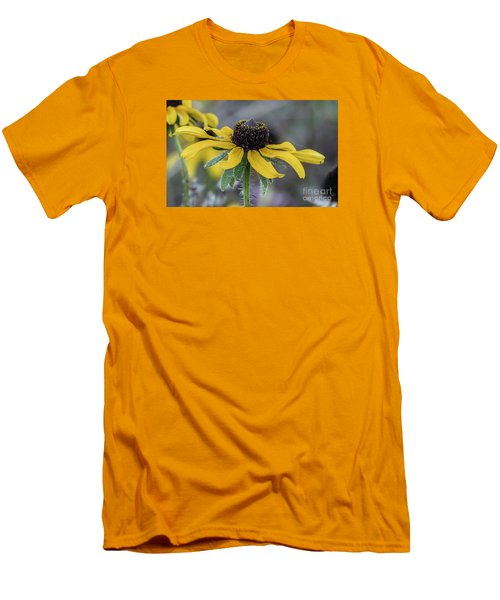 Yellow Flower 6 Men's T-Shirt (Athletic Fit)