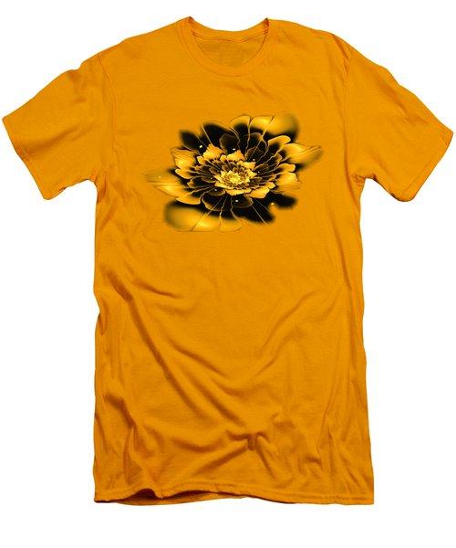 Yellow Flower Men's T-Shirt (Slim Fit) by Anastasiya Malakhova