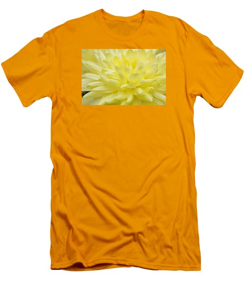 Yellow Mum Men's T-Shirt (Slim Fit) by Jim Gillen