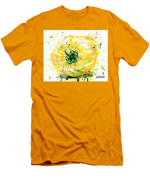Yellow Pepper Men's T-Shirt (Slim Fit) by Arleana Holtzmann