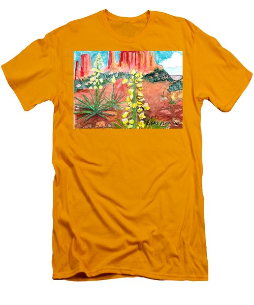 Yucca In Monument Valley Men's T-Shirt (Athletic Fit)