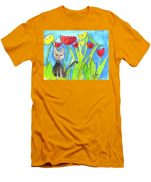 Ziggy Men's T-Shirt (Slim Fit) by Teresa Tilley