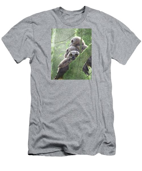 Men's T-Shirt (Slim Fit) featuring the photograph Harbingers Of Spring by I'ina Van Lawick