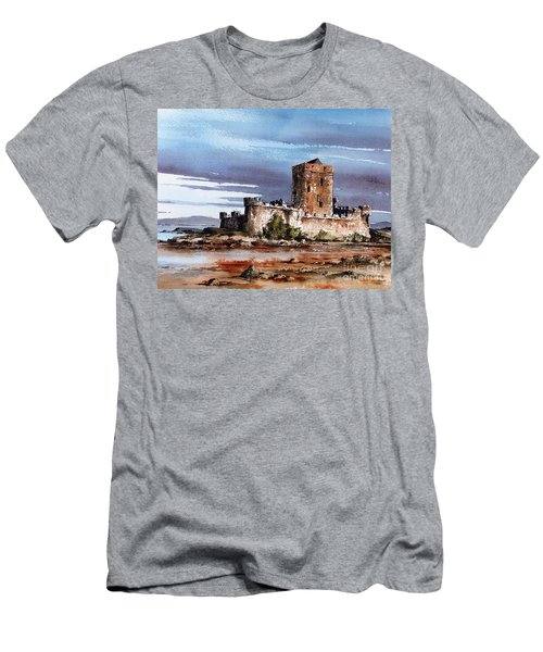 Doe Castle In Donegal Men's T-Shirt (Athletic Fit)