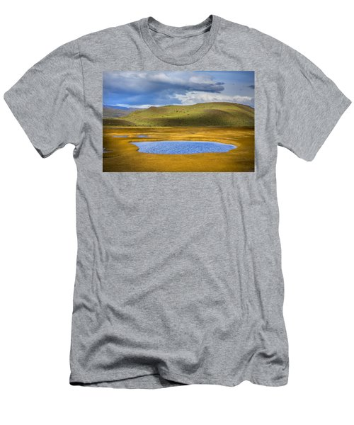 Patagonian Lakes Men's T-Shirt (Athletic Fit)
