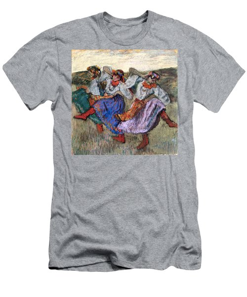 Russian Dancers Men's T-Shirt (Athletic Fit)