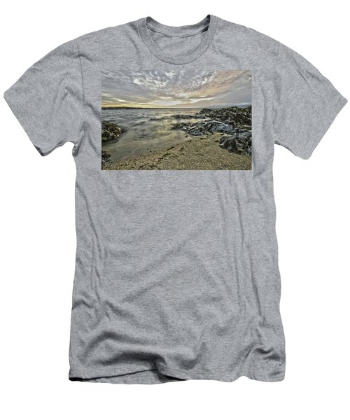 Skerries Ocean View Men's T-Shirt (Slim Fit) by Martina Fagan