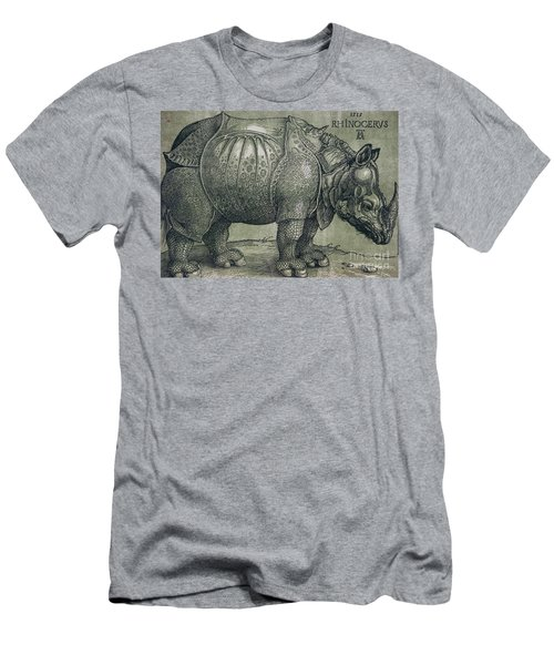 The Rhinoceros Men's T-Shirt (Athletic Fit)