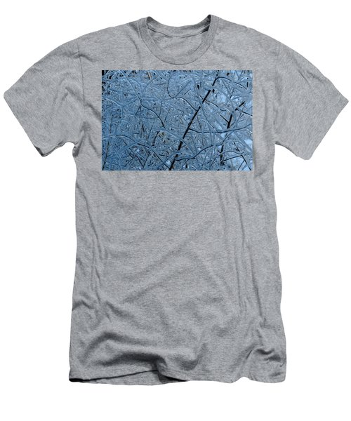 Vegetation After Ice Storm  Men's T-Shirt (Athletic Fit)