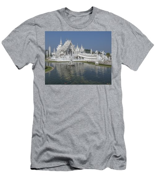 Wat Rong Khun Ubosot Dthcr0001 Men's T-Shirt (Athletic Fit)