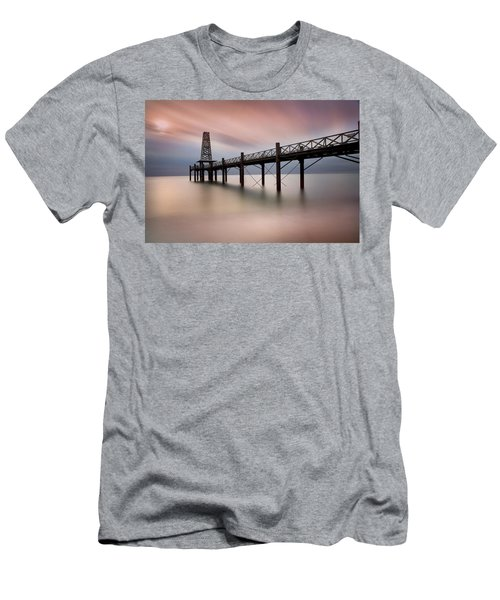 Wooden Pier Men's T-Shirt (Athletic Fit)