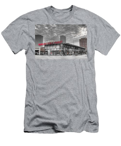 0038 Milwaukee Public Market Men's T-Shirt (Athletic Fit)