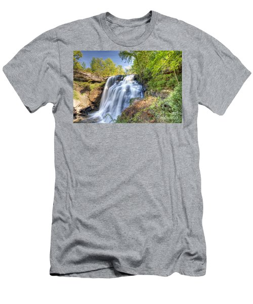 0302 Cuyahoga Valley National Park Brandywine Falls Men's T-Shirt (Athletic Fit)