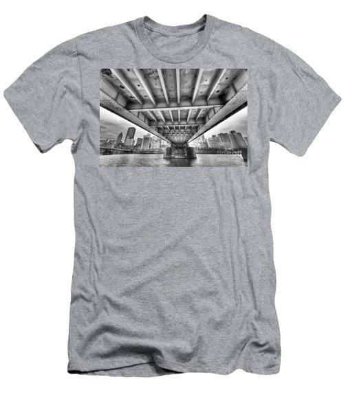 0308 Pittsburgh 5 Men's T-Shirt (Slim Fit) by Steve Sturgill