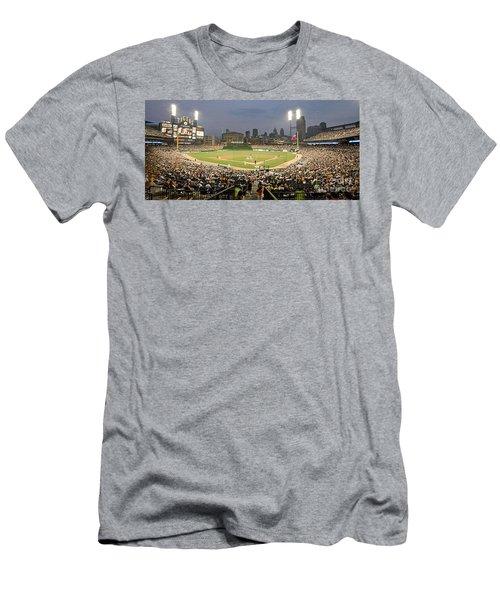 0555 Comerica Park Detroit Men's T-Shirt (Athletic Fit)