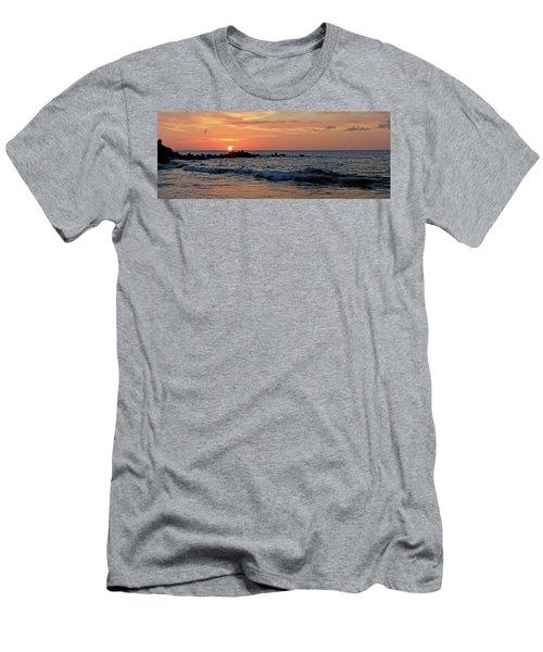 0581 Maui Sunset 2 Men's T-Shirt (Slim Fit) by Steve Sturgill