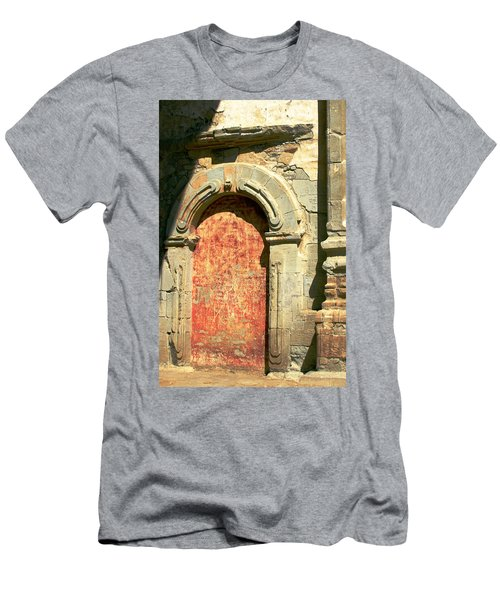0584 San Juan Capistrano Mission Men's T-Shirt (Athletic Fit)