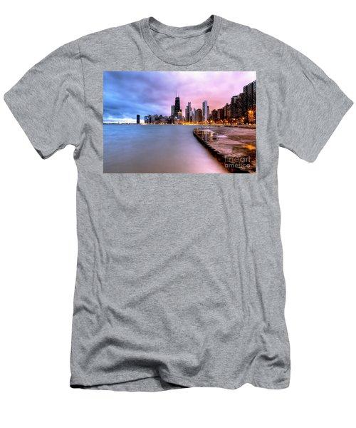 0865 Chicago Sunrise Men's T-Shirt (Athletic Fit)