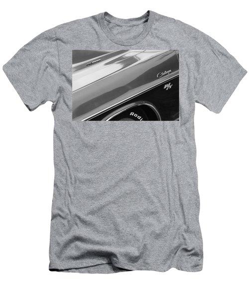 1970 Dodge Challenger Rt Convertible Emblems Men's T-Shirt (Athletic Fit)