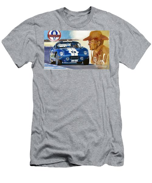 64 Cobra Daytona Coupe Men's T-Shirt (Athletic Fit)