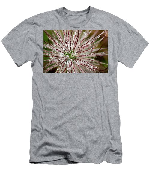 Abstract Macro Flower Head Men's T-Shirt (Athletic Fit)