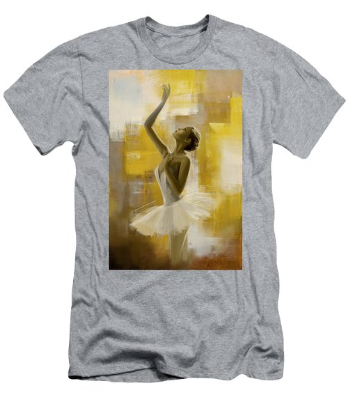 Ballerina  Men's T-Shirt (Athletic Fit)