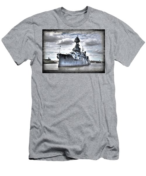 Battleship Texas Men's T-Shirt (Athletic Fit)