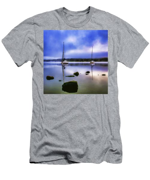 Boats On Ullswater Men's T-Shirt (Athletic Fit)