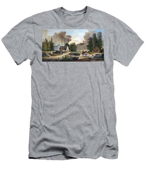 Bodmin Farm Men's T-Shirt (Athletic Fit)