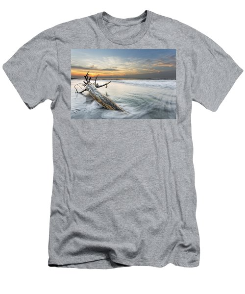 Bough In Ocean Men's T-Shirt (Athletic Fit)