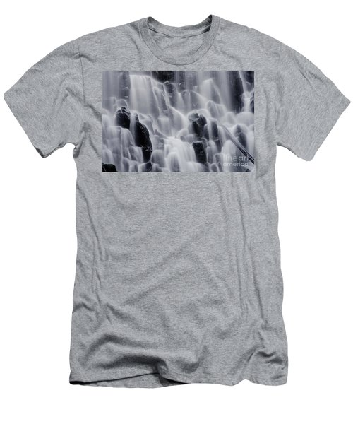 The Land Of Tumbling Waters Men's T-Shirt (Slim Fit) by Nick  Boren