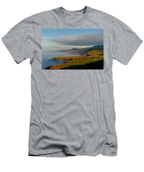 Coast Of Heaven Men's T-Shirt (Athletic Fit)