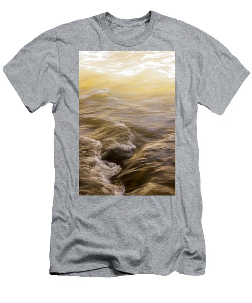 Dance Of Water And Light Men's T-Shirt (Athletic Fit)