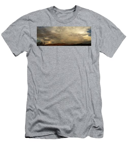 Men's T-Shirt (Slim Fit) featuring the photograph Desert Storm by Chris Tarpening
