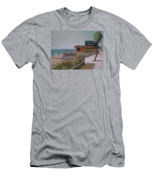 Flagler Beach Men's T-Shirt (Athletic Fit)