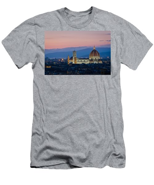Florence At Sunset Men's T-Shirt (Athletic Fit)