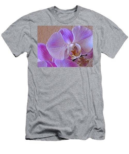 Grace And Elegance Men's T-Shirt (Slim Fit) by Lynda Lehmann