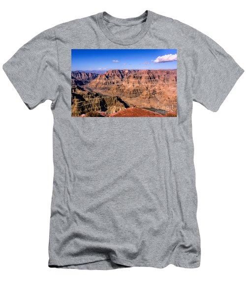 Grand Canyon Men's T-Shirt (Slim Fit) by Lynn Bolt